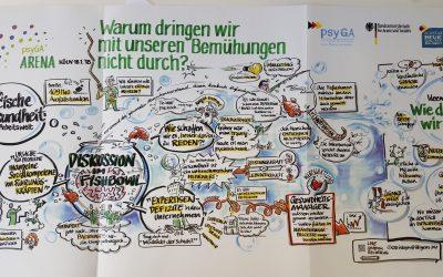 Die psyGA-Arena in Köln: Warum dringen wir mit unseren Bemühungen nicht durch?