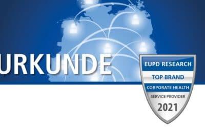 Award zum Top-Gesundheitsdienstleister deutschlandweit