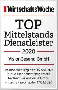 Siegel VisionGesund_Wirtschaftswoche