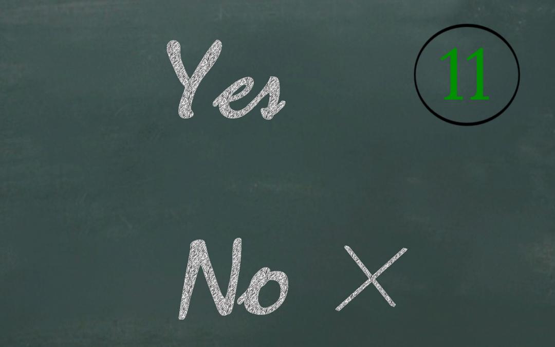 """#11 Mit einem """"Nein"""" zur Selbstbestimmung."""