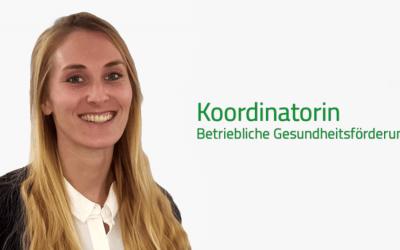 Herzlich willkommen, Sarah Krampikowski im VisionGesund-Team!
